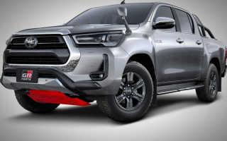 Обновленный Toyota Hilux получил первый тюнинг