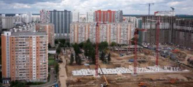 Строительство в Москве продолжается в прежних объемах
