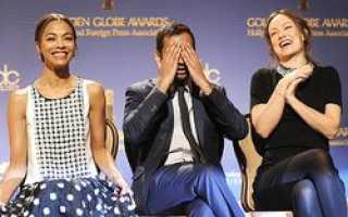 Список номинантов на «Золотой глобус-2014» оглашен