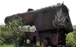 Румынские цыгане распилили и продали бронепоезд