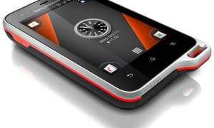 Большой анонс Sony Ericsson: Sony Ericsson Xperia active