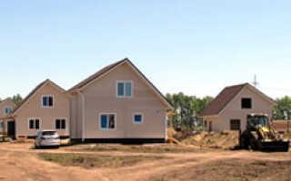 Строительство 28 коттеджных поселков