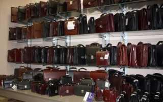 Мужские кожаные портфели как первоначальный залог успеха