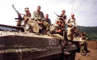 В Чечне вновь боевики дали о себе знать