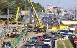 В Москве проводится масштабная реконструкция улиц