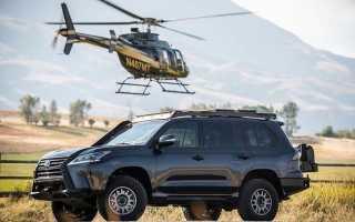 Представлен брутальный внедорожник Lexus