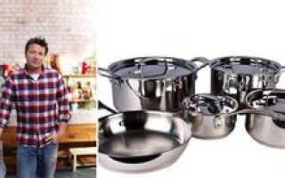 Tefal Jamie Oliver — коллекция посуды от Джейми Оливера