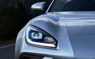 Subaru раскрыла дату премьеры нового спортивного купе