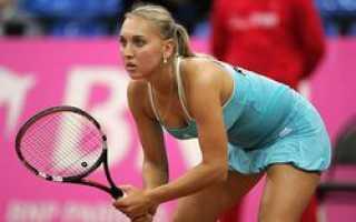 Елена Веснина: В Сочи должна быть полноценная теннисная база