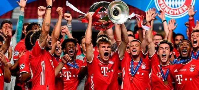 «Бавария» выиграла все матчи Лиги чемпионов!