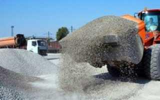 Лицензирование импорта гравия и щебня продлено до конца 2016 года