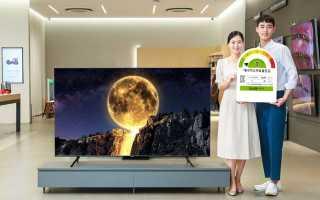 Samsung представила серию телевизоров QT67 QLED TV с высокой энергоэффективностью