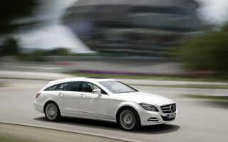 CLS Shooting Brake — спортивный универсал от Mercedes