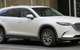 Скоро в продаже Mazda CX-9 следующего поколения