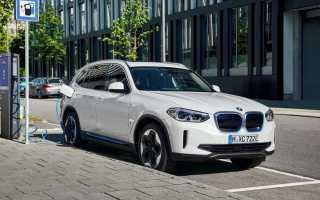 Новый серийный электрический кроссовер BMW iX3