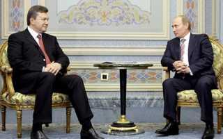 Путин и Янукович обсудят ряд важных вопросов