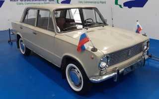 В Великобритании выставили на продажу старый седан Lada-2101