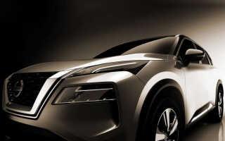 Новый Nissan X-Trail на официальных снимках