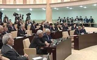 Сенат парламента Казахстана принял Декларацию двадцатилетия госнезависимости