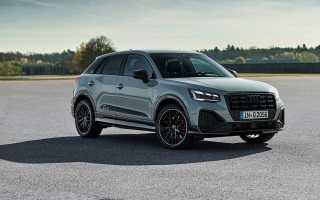 Audi рассекретила рестайлинговый кроссовер Q2