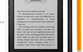 Amazon Kindle — лидер среди электронных читалок