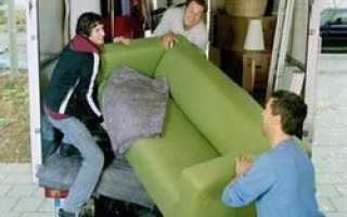 Перевозка домашнего имущества сегодня является профессиональным видом деятельности