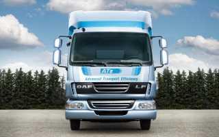 DAF ATe: дополнительная экономия топлива для новых тягачей DAF CF85 и XF105!