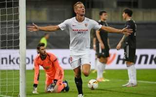 «Севилья» вышла в финал Лиги Европы после победы над «Манчестер Юнайтед»