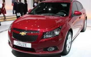 Компания Chevrolet выпустила новое авто Cruze
