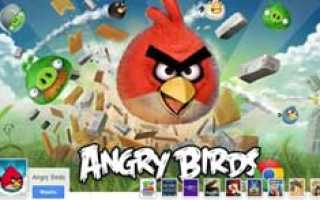 Angry Birds стали первым приложением новой социальной сети Google+