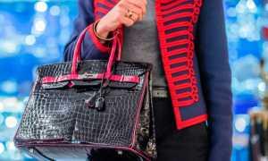 Самые дорогие в мире сумки начали продавать в полцены