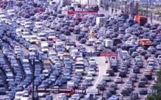 Худшие города для автомобилистов
