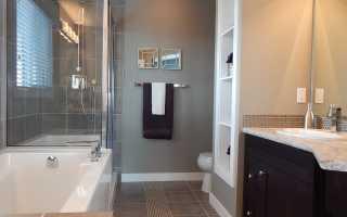 Обновите дизайн ванной комнаты