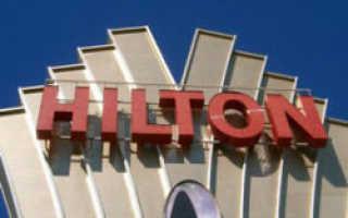 Бренд Hilton до сих пор не может начать возведение отеля в Петербурге