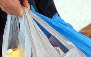 В супермаркетах Европы не будет бесплатных пакетов