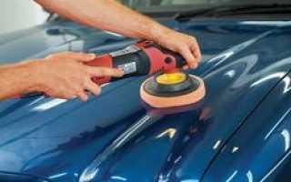 Основные правила полировки авто