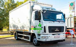 МАЗ разработал первый белорусский электрический грузовик