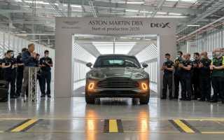 Aston Martin приступил к выпуску первого кроссовера