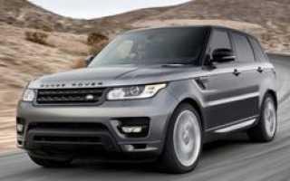 Российский рынок ожидает появления нового поколения Range Rover Sport