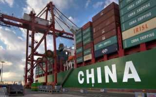 Организация перевозок грузов из КНР на территорию РФ