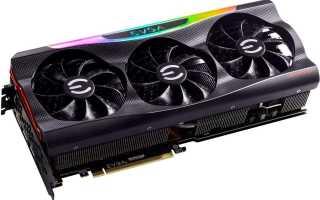 EVGA GeForce RTX 3080 Ultra получила отличный заводской разгон