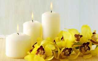 Ароматические свечи — хорошее настроение, крепкий сон и здоровый дух