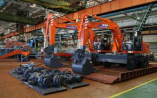 Увеличен срок гарантии на экскаваторы производимые «Группой газ» на заводе в Твери