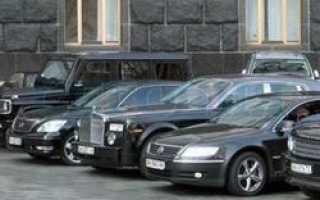 Вип-авто все чаще берут на прокат