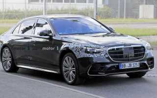 Новый Mercedes-Benz S-Class выйдет на рынок