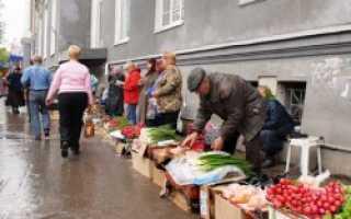 В Краснодаре власти борются с уличной торговлей