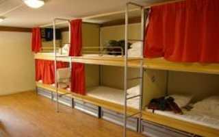 Современные хостелы уже практически ничем не уступают отелям