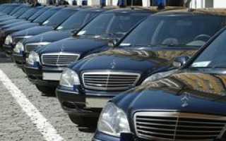 В России предлагают запретить чиновникам использовать в служебных целях дорогие автомобили