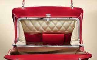 Bentley начала продавать фирменные женские сумки