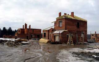 Началось строительство нового коттеджного поселка у Оби